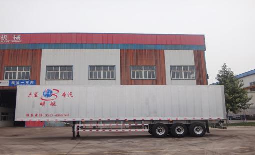 铝合金集装箱运输车