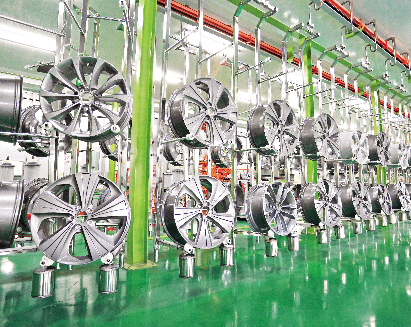 铝合金车轮毂