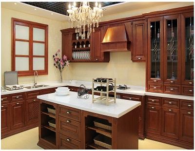 方霖全铝厨房家具